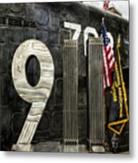 Tribute 911 Metal Print by Peter Chilelli
