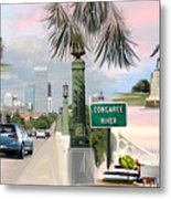 Tribute To Columbia Sc Metal Print