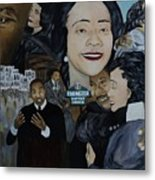 Tribute To Dr Martin Luther King Jr Metal Print