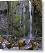 Trickle Wall Metal Print