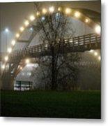 Tridge Fog Metal Print
