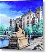 Trieste  Castello Di Miramare Metal Print