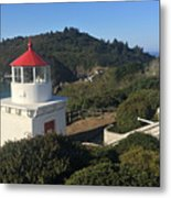 Trinidad Head Memorial Lighthouse, California Lighthouse Metal Print