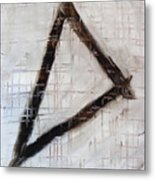 Trinity Channels Abstract Painting Metal Print