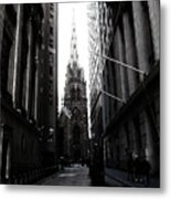 Trinity Church New York City Metal Print