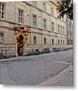 Trinity Hall In The Evening. Cambridge. Metal Print