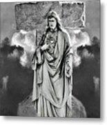 Trinity Of Stone Metal Print