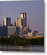 Trinity River Dallas 3 Metal Print