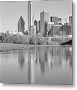 Trinity River Panorama Metal Print