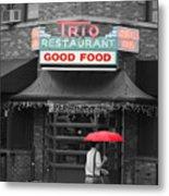 Trio Restaurant Metal Print