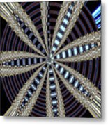 Triple Abstract Metal Print