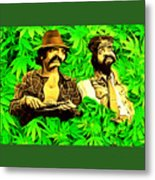 Trippin With Cheech And Chong Metal Print