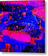 Triptych 1 Cropped Metal Print