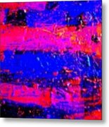 Triptych 3 Cropped Metal Print
