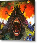 Screams Of Yesterday, Today And Tomorrow Metal Print