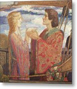 Tristian And Isolde Metal Print