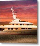 Triton Yacht Metal Print by Aaron Berg