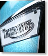 Triumph Badge Metal Print