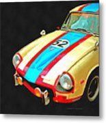 Triumph Gt Pop Art Metal Print