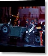 Triumph In Miniture Metal Print