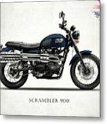 Triumph Scrambler 900 Metal Print