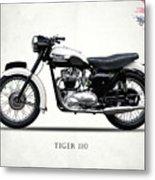 Triumph Tiger 110 1959 Metal Print