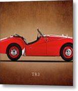 Triumph Tr3a 1959 Metal Print