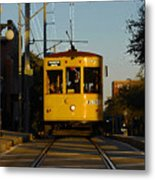 Trolley Ride Metal Print