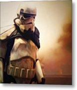Trooper Landscape Metal Print