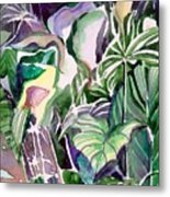 Tropic Lights Metal Print