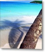 Tropic Shadows Metal Print