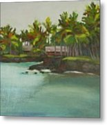 Tropical Bay Metal Print