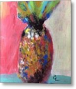 Tropical Candy Metal Print