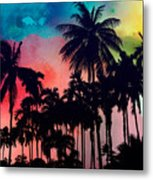 Tropical Colors Metal Print