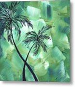 Tropical Dance 3 By Madart Metal Print