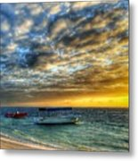 Tropical Dawn Metal Print