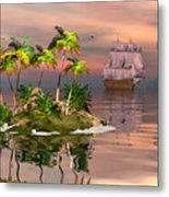 Tropical Discovery Metal Print