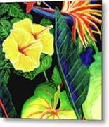 Tropical Flower Arrangement #251 Metal Print
