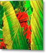 Tropical Fusion Metal Print