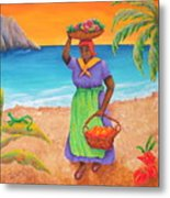 Tropical Harvest Metal Print