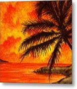 Tropical Heat Metal Print