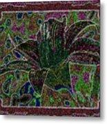 Tropical Lily 3 Metal Print