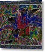Tropical Lily 5 Metal Print