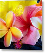 Tropical Melange Metal Print
