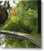 Tropical Mirror Metal Print