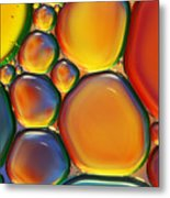 Tropical Oil And Water II Metal Print
