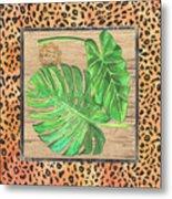 Tropical Palms 2 Metal Print