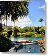 Tropical Plantation - Maui Metal Print