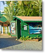 Tropical Rush Metal Print
