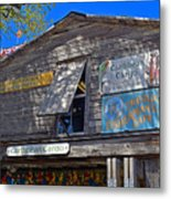 Tropical Shop Metal Print